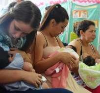 ECUADOR.- En el proyecto se incorporó la posibilidad de extender el permiso materno hasta 12 meses. Foto: Archivo