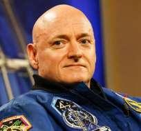 Esta es la segunda misión al espacio de Scott Kelly. La primera vez estuvo seis meses.