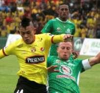 AMBATO, Ecuador.- Barcelona no pudo sostener el resultado en el Bellavista.
