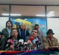 El 17 de marzo dirigentes de movimientos sociales y sindicales protestarán en Quito. Foto: @CEDOCUT