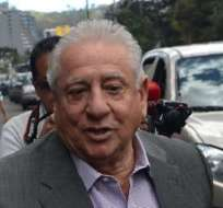 QUITO, Ecuador.- El expresidente de la FEF está detenido desde diciembre.