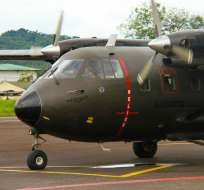 ECUADOR.- La Secretaría de Comunicación difundió un documento para aclarar versiones del avión Aravá. Foto referencial de la aeronave