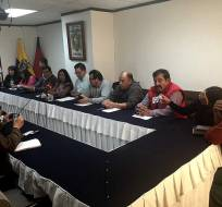 El presindente del FUT dice que preparan una demanda de inconstitucionalidad. Foto: @JacquelineRodas