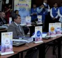 ECUADOR.- Las auditorías inician desde la inscripción de candidaturas hasta la validación de formularios. Foto: API