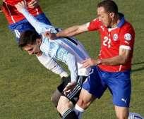 SANTIAGO, Chile.- Messi comandará el ataque argentino ante los chilenos. Foto: EFE.