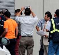DURÁN, Guayaquil.- El 10 de marzo las autoridades allanaron bodegas de la firma en Durán. Foto archivo API