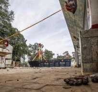 El grupo Jamaat ul Ahrar se adjudica el ataque y asegura que fue contra los cristianos. Foto: EFE