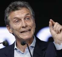 ARGENTINA.- El presidente argentino, Mauricio Macri, no tiene ni tuvo acciones de una firma en un paraíso fiscal, afirma la Presidencia. Foto: Archivo