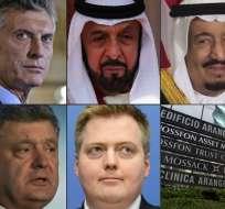 """INTERNACIONAL.- Líderes mundiales, estrellas de la gran pantalla, deportistas y decenas de multimillonarios se encuentran entre los """"Papeles de Panamá"""". Foto: AFP"""