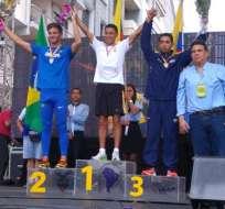 El ecuatoriano Andrés Chocho ganó la prueba de 20 km en el Sudamericano de Marcha que se realizó en Guayaquil.
