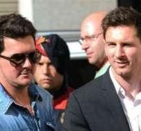 La familia del jugador argentino no descarta emprender acciones legales por lo que consideran una difamación.