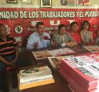 La organización asegura que tiene preparada una marcha independiente para el 8 de abril. Foto: @LeninArtieda