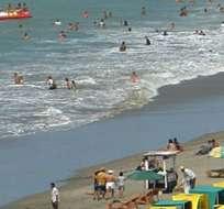 GUAYAQUIL, Ecuador.- Según la entidad, las olas tendrán una altura media de 1.5 metros, y durarán un promedio de 12 y 15 segundos.