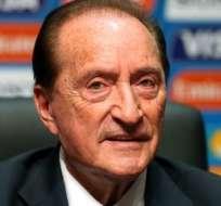 Eugenio Figueredo se encuentra detenido en Uruguay por el caso FIFA Gate.