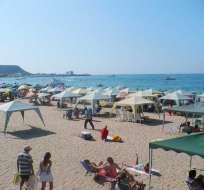 Las autoridades recomiendan a los pobladores y turistas permanecer cerca de la orilla. Foto: Archivo