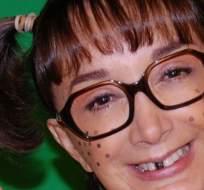 La actriz hizo el anuncio al llegar a una función de teatro en México. También crítico a Florinda Meza por comentarios sobre Ramón Valdés.