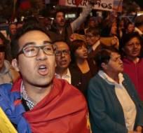 QUITO, Ecuador.- Los convocados criticaban que la Corte no resuelva las demandas que han presentado. Foto: API.