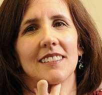 EE.UU.- Marina Walker durante su videoconferencia con Contacto Directo. Foto: Internet
