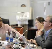 QUITO, Ecuador.- La comisión de Régimen Económico alista el informe para el segundo debate del proyecto. Foto: API
