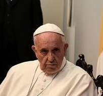 Papa pide a Europa respetar derechos humanos y ver que refugiados son humanos. Foto: EFE