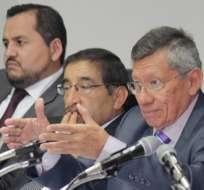 Carlos Villacís señaló que la falta de pago de los canales TC y Gama tiene en problemas a los clubes.