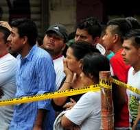 ECUADOR.- Se trata de los cuerpos entregados a sus familiares en las provincias afectadas. Foto: API