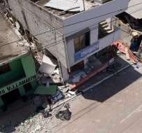 """ECUADOR.- La entidad financiera aprobó """"la donación de emergencia de 200.000 dólares"""". Foto: API"""