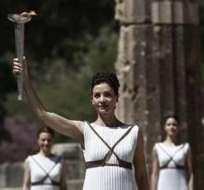 Se encendió la llama olímpica y con ello empieza el recorrido que la trasladará Rio de Janeiro.