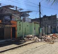 El presidente visitará a los afectados en sectores de Muisne y San José de Chamanga. Foto: Patricio Díaz