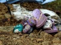 PEDERNALES, Ecuador.- Una semana y un día después del terremoto del 16 de abril que afectó a Manabí y al sur de Esmeraldas, el número de muertos alcanzó las 655 personas. Foto: José Jácome. EFE.