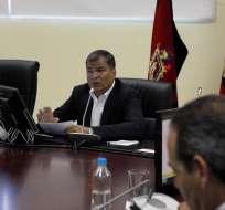 El grupo articulará acciones para atender a la población y reparar daños del terremoto. Foto: Presidencia / Flickr