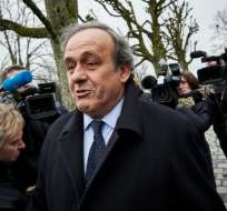 Michel Platiní se encuentra suspendido por la justicia interna de la FIFA. El francés apeló la resolución.