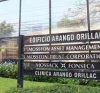 Hay cerca de 11,5 millones de documentos del estudio jurídico panameño Mossack Fonseca.