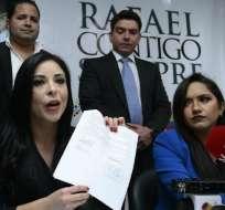ECUADOR.- El colectivo anuncia recoger firmas para continuar proceso de reelección del presidente. Foto: API