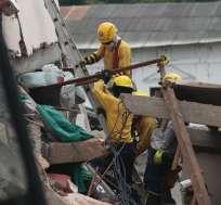 Desde el terremoto de 7.8 grados se presentaron seis réplicas de magnitud mayores a 6, siendo Manabí una de las más provincias más afectadas. Foto: EFE.