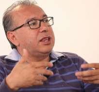 ECUADOR.- Orlando Pérez, director del diario El Telégrafo, acudirá la próxima semana a la Asamblea Nacional. Foto: Archivo