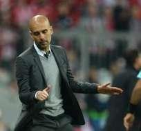 MÚNICH, Alemania.- Guardiola dirigió su último juego como en Alemania. Foto: EFE.