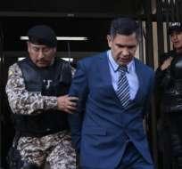 QUITO, Ecuador.- Vinicio Luna tras reconocer su culpabilidad en el caso por lavado de activos. Foto: API