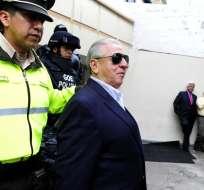 QUITO, Ecuador.- Luis Chiriboga es acusado por la Fiscalía de lavado de activos. Foto: API.