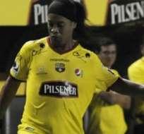 GUAYAQUIL, Ecuador.- El astro brasileño volverá a jugar como profesional.