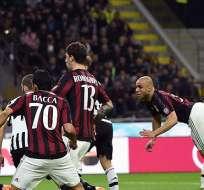 MILAN, Italia.- El conjunto 'rossonero' no gana un scudetto hace años. Foto: AFP.