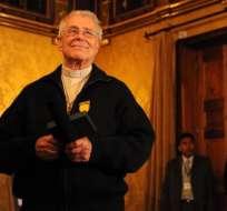 ECUADOR.- El religioso español estuvo por 40 años al frente del Vicariato Apostólico de Sucumbíos. Foto: Andes