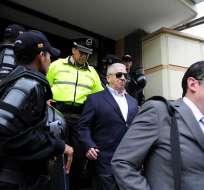 Luis Chiriboga, expresidente de la FEF, es llamado a juicio por el delito de lavado de activos.
