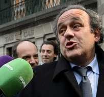 El TAS se pronunció sobre el recurso presentado por el francés Michel Platini.