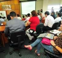ECUADOR.- Tras un proceso de ocho meses de evaluación, 13 instituciones de educación superior cambian de categoría. Foto: Archivo
