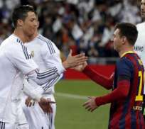 MADRID, España.- Cristiano Ronaldo y Lionel Messi son los jugadores más caros del mundo.