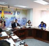 La consulta estaba fijada para el 10 de julio de 2016 por el Consejo Nacional Electoral (CNE). Foto: @CMTayupanta