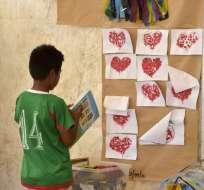Pedernbales, Manabí.- Se necesitan USD 15 millones para cubrir necesidades de 250.000 niños hasta julio, según Unicef. Foto: AFP