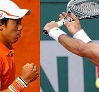 Kei Nishikori y Fernando Verdasco se enfrentarán en octavos de final de Roland Garros.