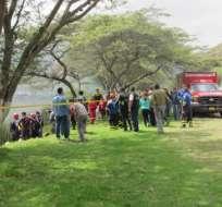 IBARRA, Ecuador.- El cuerpo de Francisco Cajigas fue entregado a su familia sin cabeza. Foto referencial de la zona